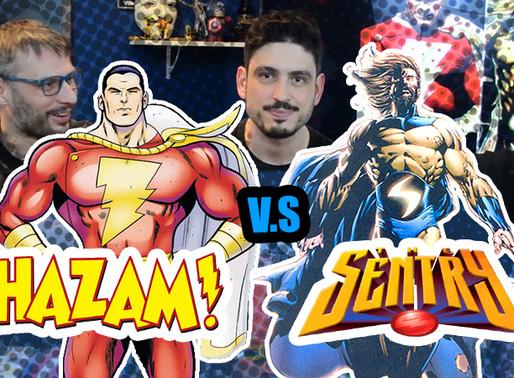 Shazam vs Sentinela   Fusi Kombat