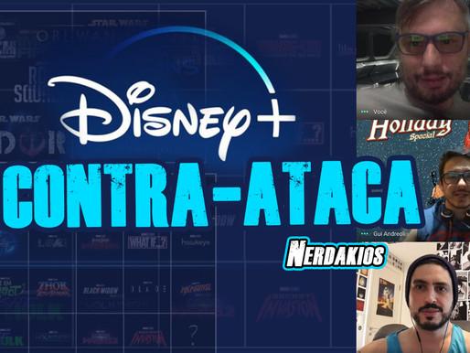 Disney Plus Contra-Ataca com diversos lançamentos