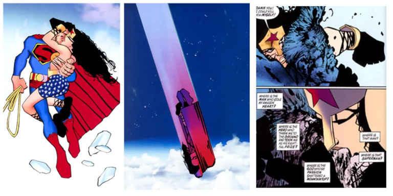 Romance de Superman e Mulher-Maravilha 2007