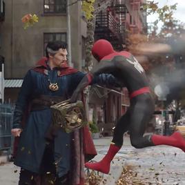Dr. Strange e Homem-Aranha no trailer de Sem Volta para Casa