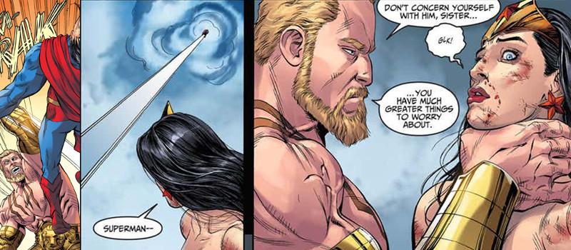Mulher-Maravilha vs Hércules
