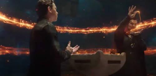 Dr. Strange ajuda Peter Parker no seu problema