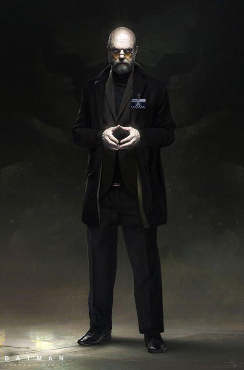 Dave Paget - Concept The Batman