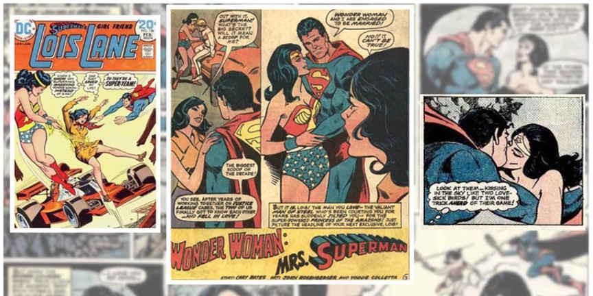Romance de Superman e Mulher-Maravilha 1974