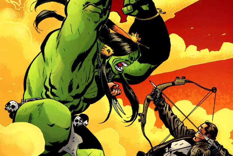Justiceiro vs Hulk