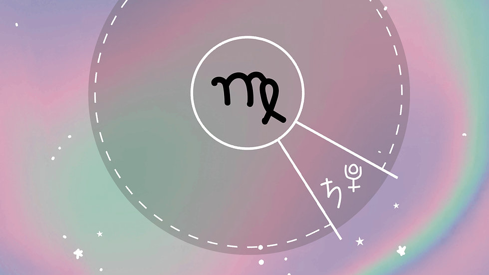 Virgo | Saturn/Pluto Conjunct