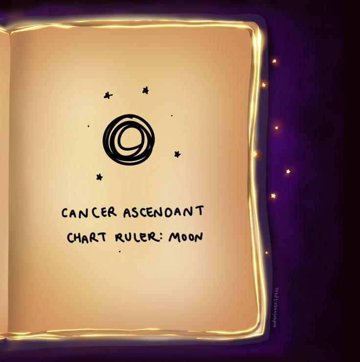 Chart Ruler - Moon