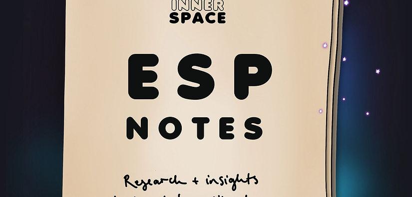 ESP Notes Personal Natal Chart Interpretation