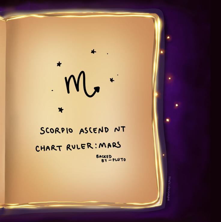 Chart Ruler - Mars