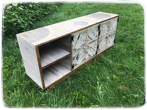 Overbuild Reclaimed Wood Credenza