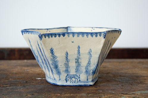 MAGGIE ROBERTSON | Crown and Country Pentagon Shape Bowl