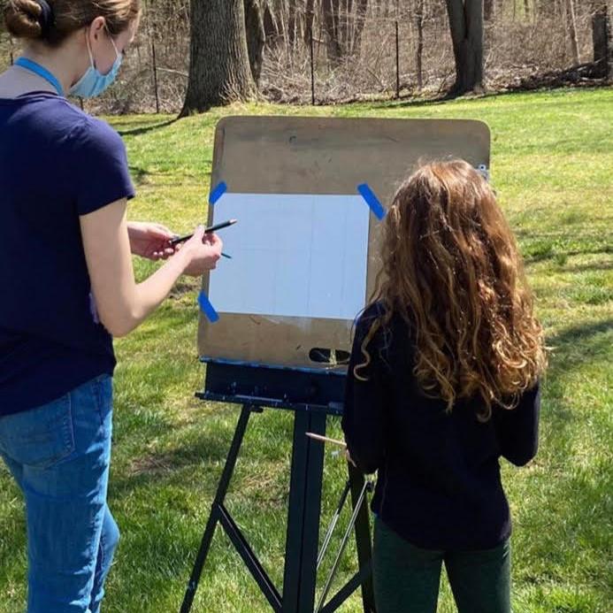 Red Fox Gallery presents: Painting for Kids with Grayson  - July Class