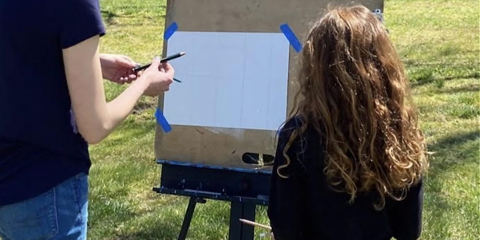 Red Fox Gallery presents: Painting for Kids with Grayson  - July 25 Class 10 am