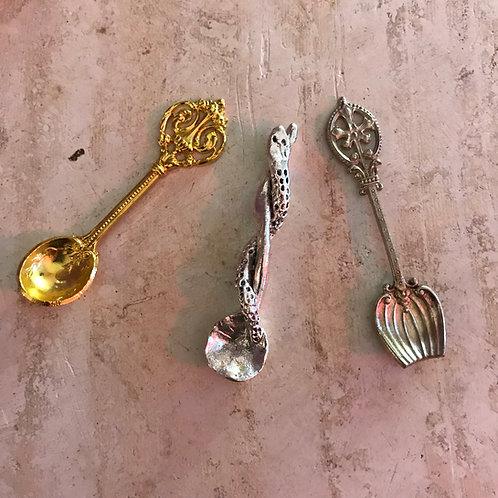 Siecle Paris Salt Spoons