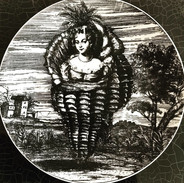 Set of 12 1950s Fornasetti Plates