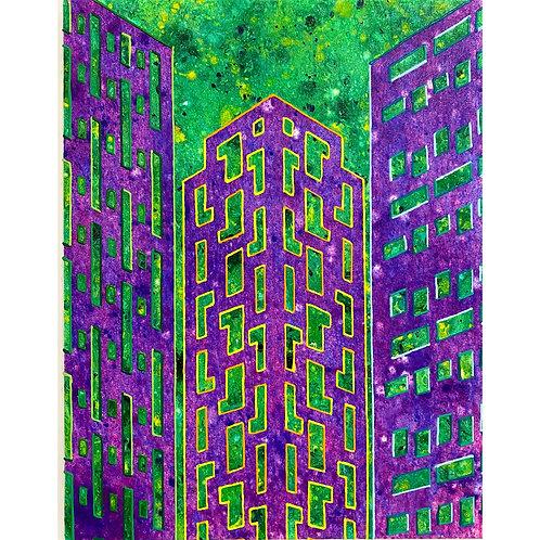 SABINA FORBES |  Near NYU, Abstracted