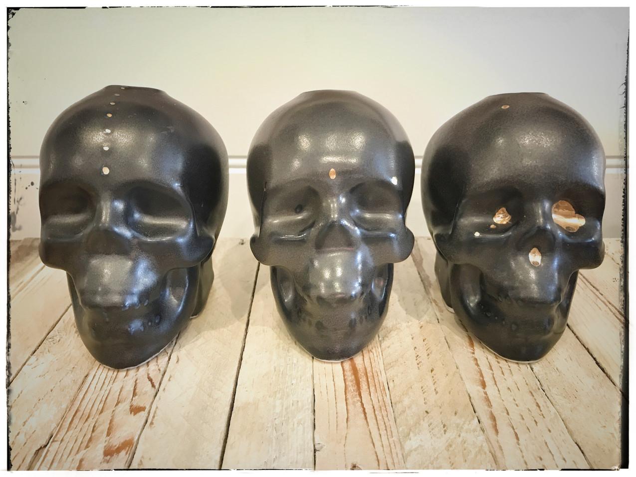 Humming Bird Ceramics Skulls