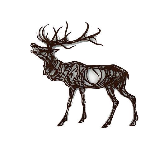WENDY KLEMPERER | Calling Elk Steel Silhouette