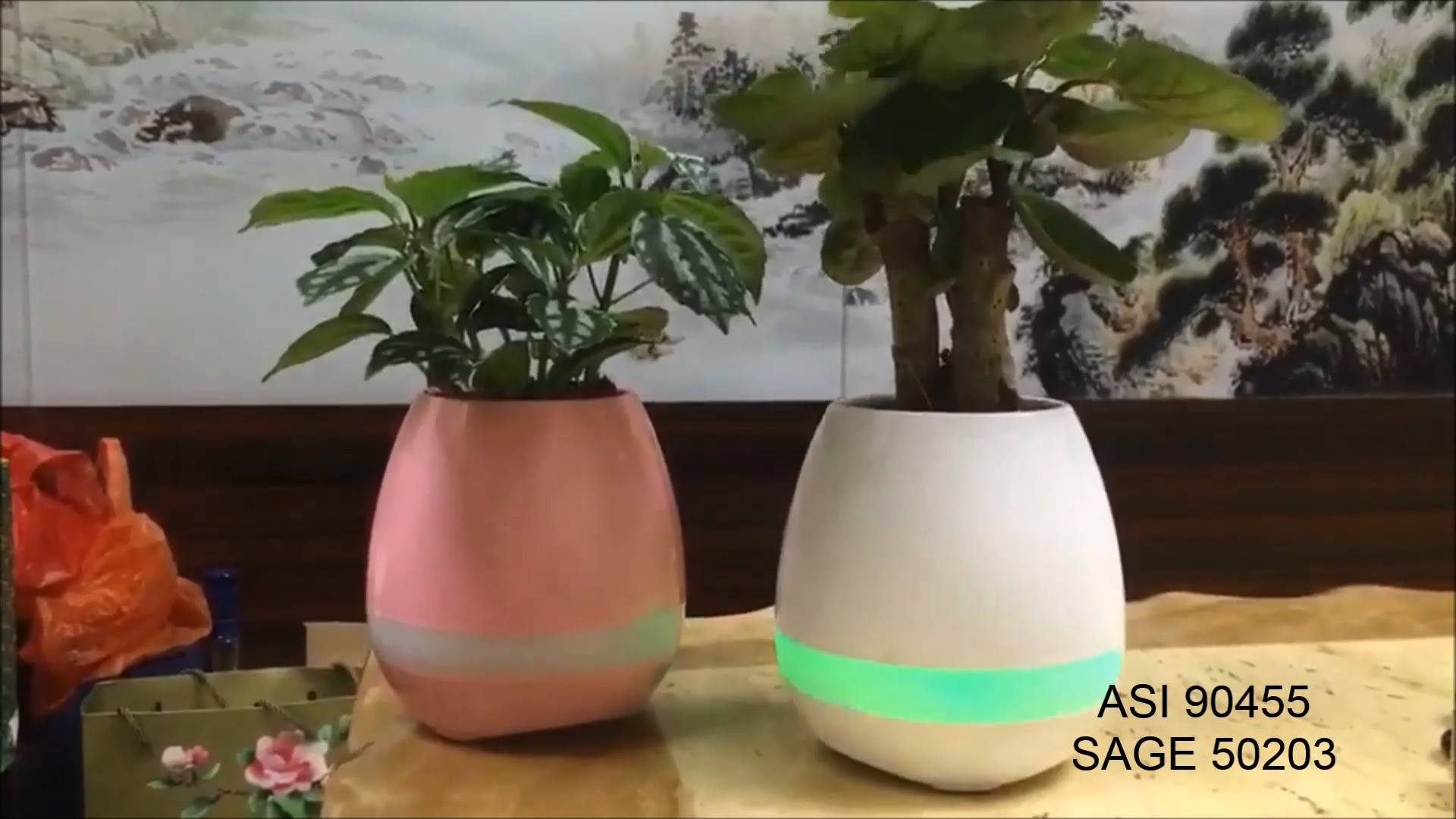 Symbio Bluetooth Plant Pot