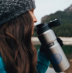 SnugZ USA Woman with Thermos.png