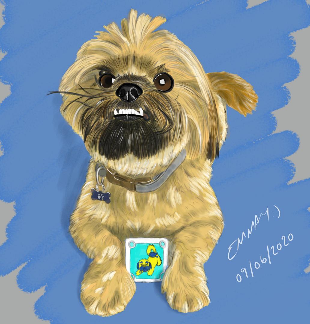 Digital Painting - Dog