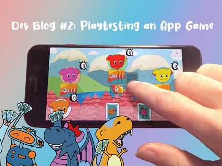 Dev Blog #2: Playtesting