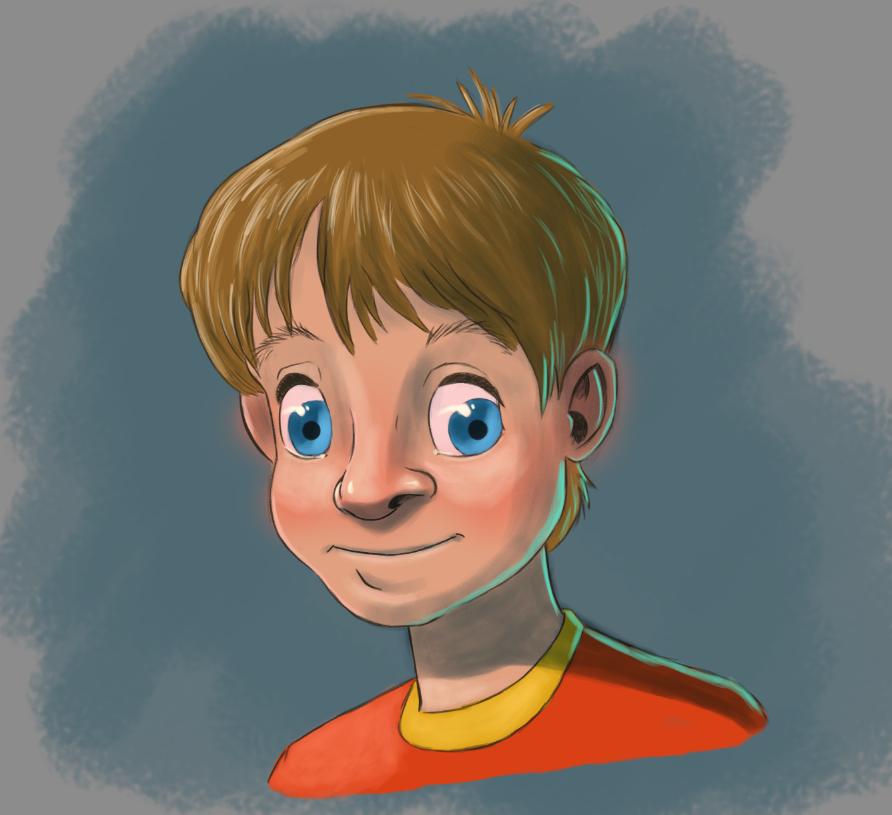 Digital Painting - Boy