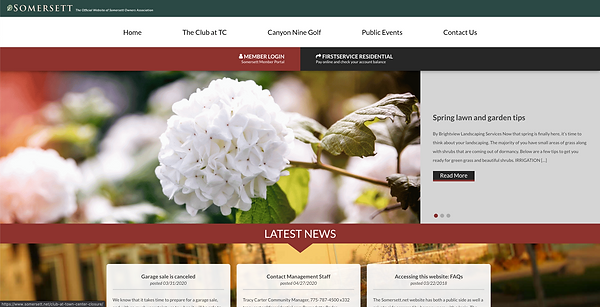 This is a preview of the Somersett website where you will find more information on the master planned community