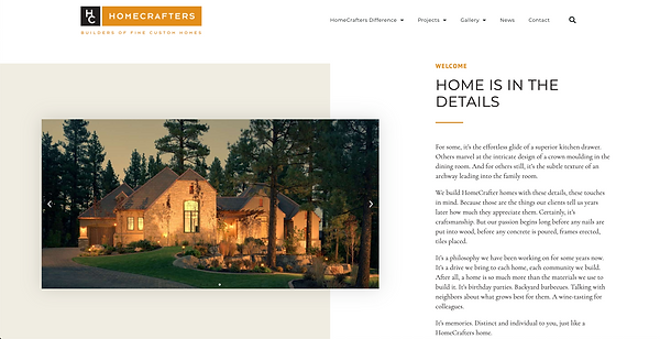 This is a preview of our award winning builders website where you will find more info on their past projects