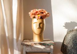 Vaso Uomo com flores