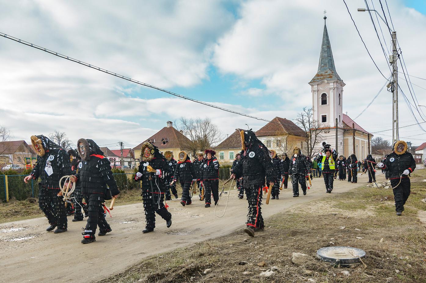 Cincu / Gross-Schenk Brașov county / Brassó megye / Județul Brașov Romania / Románia / România 2019