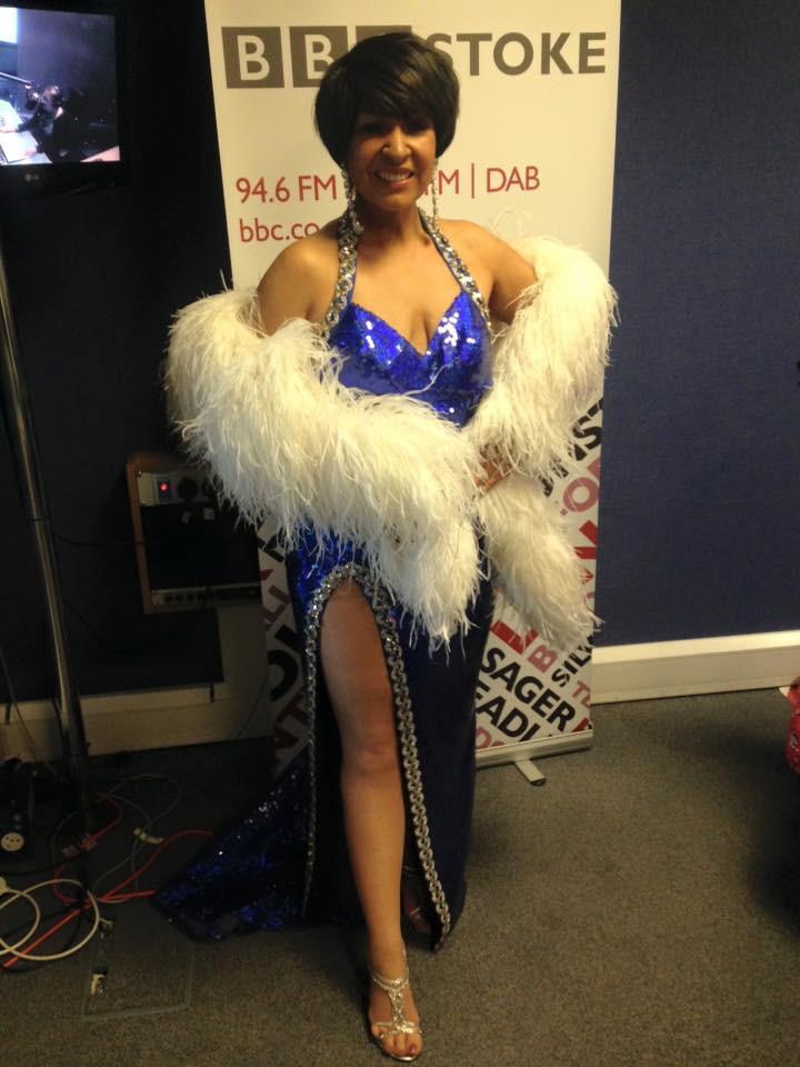Rachael at Radio Stoke