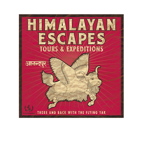 Himalayan Escapes Show Graphic Logo