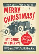Saltworks Christmas Postcard
