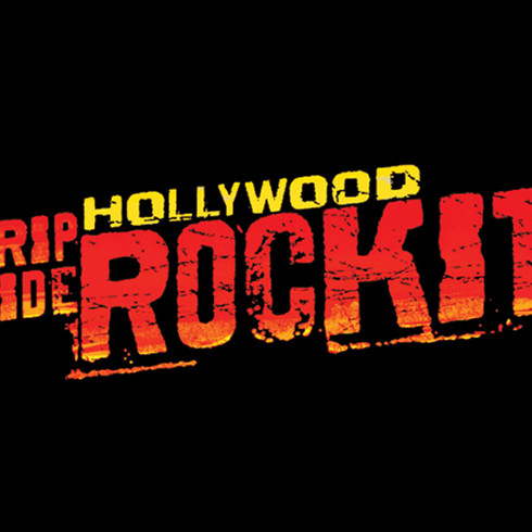 Hollywood Rip Ride Rocket - Attraction Logo