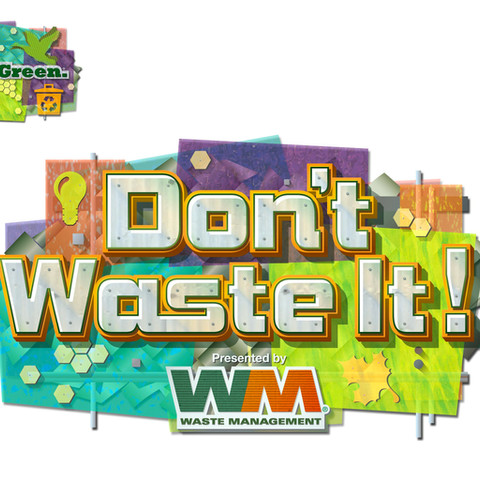 Don't Waste It - Epcot Innoventions Attraction Logo