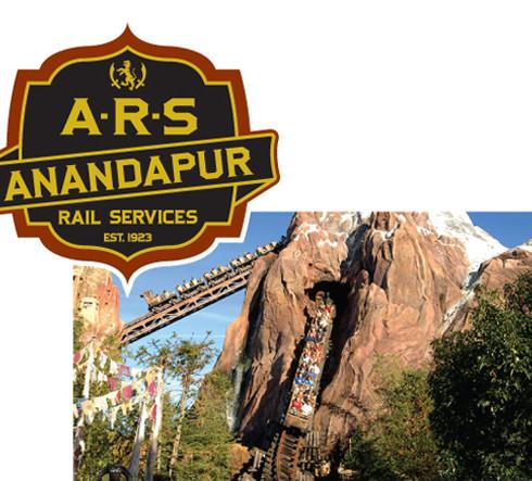 Anandapur Rail Services Logo