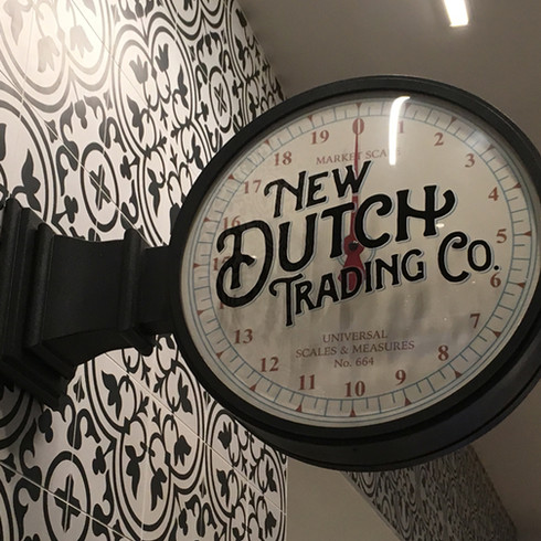 New Dutch Trading Co. Marquee