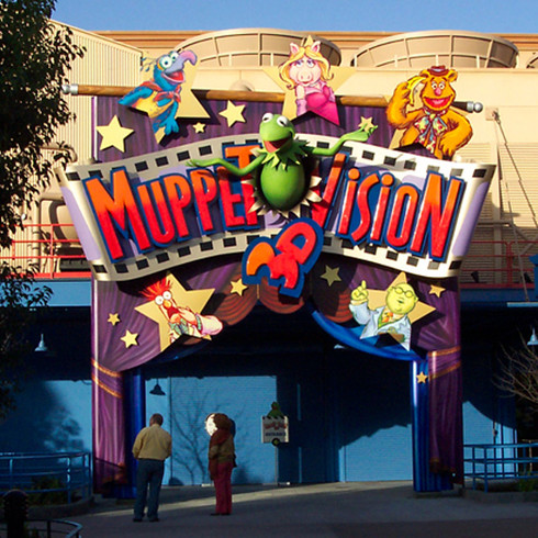 Muppet Vision 3D Marquee