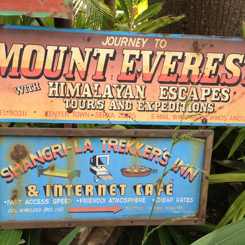 Expedition Everest Show Graphic Signage