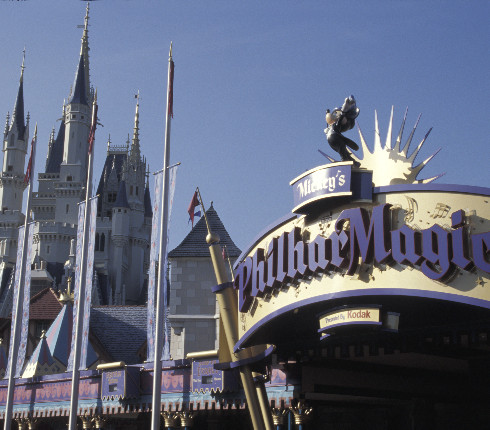 Mickey's PhilharMagic Marquee