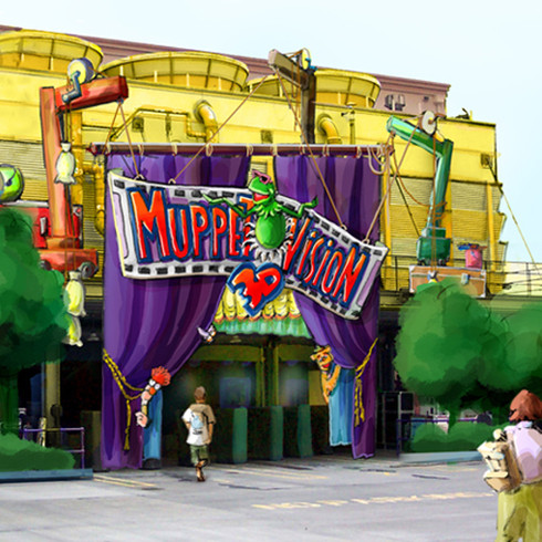 Muppet Vision 3D Entry Concept