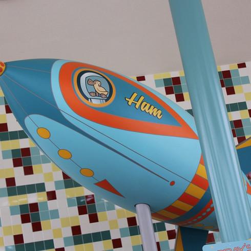 Atomic Tonic Rocket Set Piece
