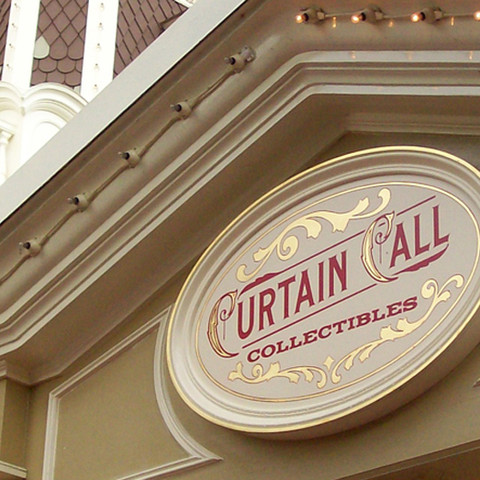 Curtain Call Collectibles Retail Marquee
