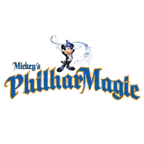 Mickey's PhilharMagic Attraction Logo