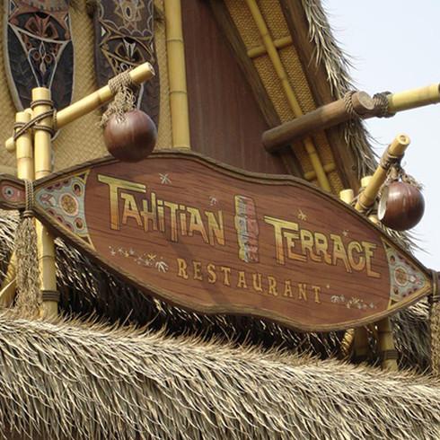 Tahitian Terrace Roof Marquee