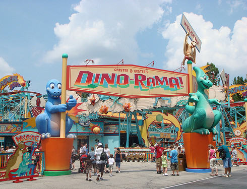 Dino-Rama! Entry Marquee