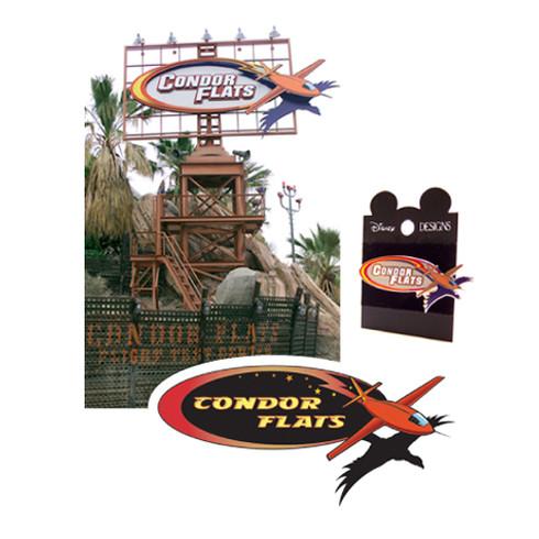 Condor Flats Land Logo & Marquee