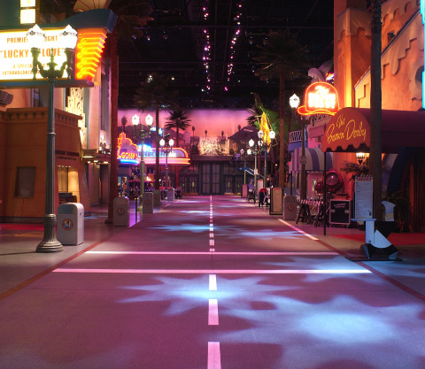 Disney Studio 1: Sound Stage Show Graphics
