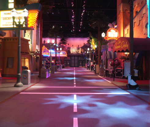 Disney Studio 1: Sound Stage Show Graphics